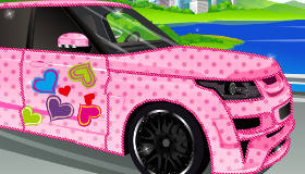 Decorate a Luxury Car