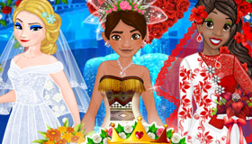 Princess Wedding Game for Girls