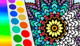 Beautiful Mandala Coloring Game