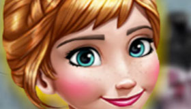 Frozen Princess Anna Dress Up