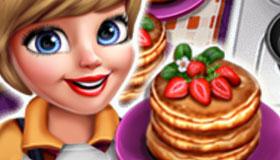 Pancake 'n' Ribs Cooking