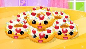 Mardi Gras Donut Making