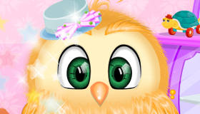 Owl in the Bath