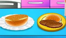 Burger Baking