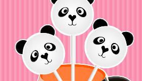 Panda Cake Pops