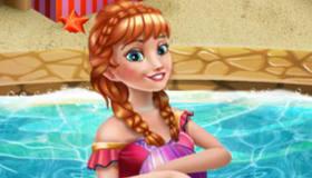 Astonishing Annas Swimming Pool Game My Games 4 Girls Hairstyle Inspiration Daily Dogsangcom