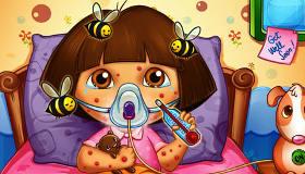 Dora's Bee Sting