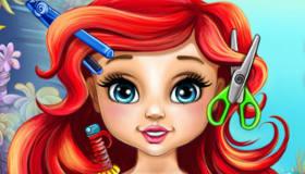 Baby Ariel's Haircut