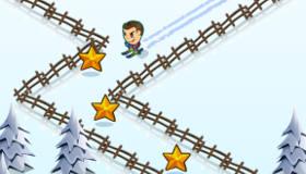Groovy Ski Race