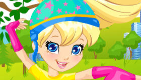Polly Pocket Rollerskates