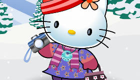 Dress Up Hello Kitty for Winter