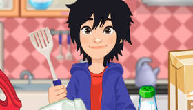 Big Hero 6 Cupcake Baking