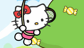 Balloon Adventure Hello Kitty