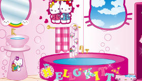 Hello Kitty Bathroom Decoration