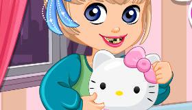 Hello Kitty Dentist Trip