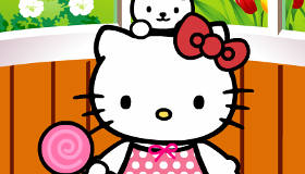 Cute Dress Up Hello Kitty