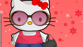 Hello Kitty Holiday Dress Up