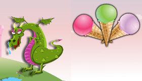 Ice Cream Dragon Warrior
