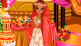 Indian Wedding Dress up
