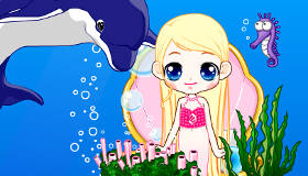 Mermaids and Dolphins