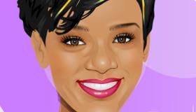 Star Makeover with Rihanna