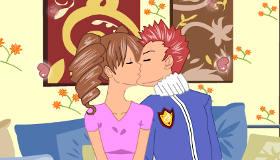 Secret Love Kissing