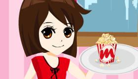Popcorn Waitress
