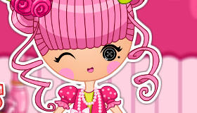 Jewel Sparkles Lalaloopsy Dress Up