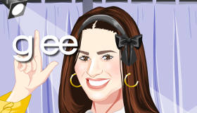 Lea Michele Glee Dress Up