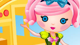 Lalaloopsy Dress Up Little Lea Loopsy Game