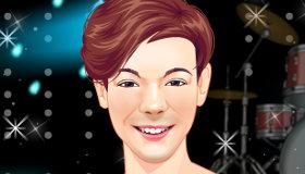 Louis Tomlinson Makeup