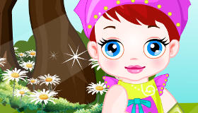 Baby Lulu the Gardener