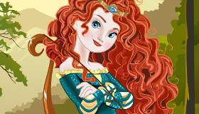 Disney Princess Merida Dress Up