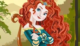 Disney Princess Merida Dress Up