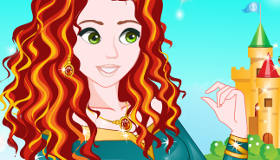 Disney Princess Merida Makeover