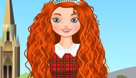 Princess Merida Today Dress Up