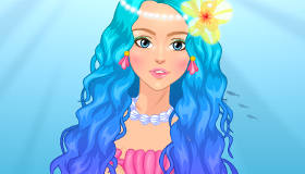 Coral Real Mermaid Dress Up