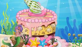 Baking Mermaid Cake
