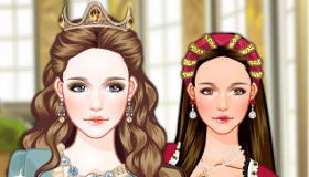Medieval Hairstyles for Girls