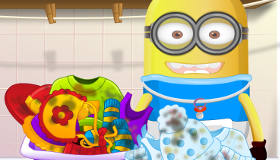 Laundry with a Minion