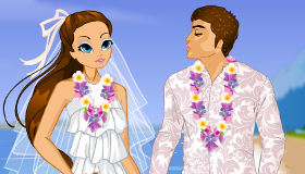 Dress Up Princess Moana Beach Wedding