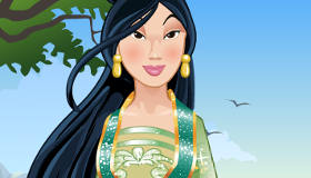 Princess Mulan Traditional Makeover