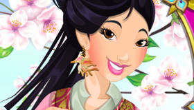 Princess Mulan Makeover