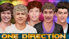 One Direction Game Dress Up