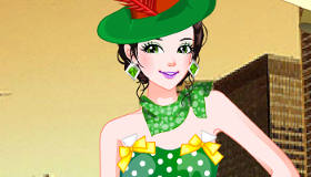 St Patrick's Day Dancer Dress Up