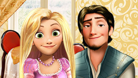 Rapunzel and Flynn date