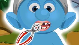 Smurf Dentist