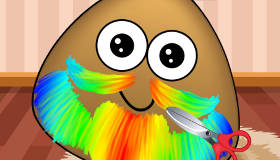 Pou's Beard Trim