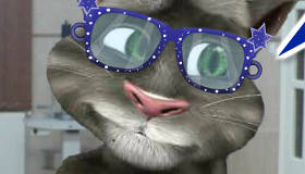 Talking Tom at the Eye Doctor