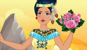 Disney Princess Pocahontas Wedding Dress Up